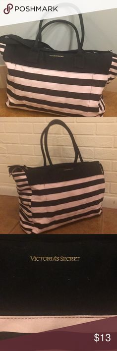 Vs duffle tote Gently used a few small marks, overall great cond! Victoria's Secret Bags Travel Bags