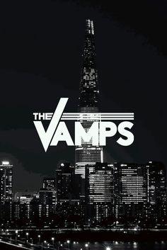 The Vamps Brad Simpson Connor Ball James Mcvey Tristan Evans Wallpaper Black and White