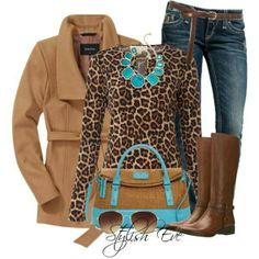 cheetah with a pop of color