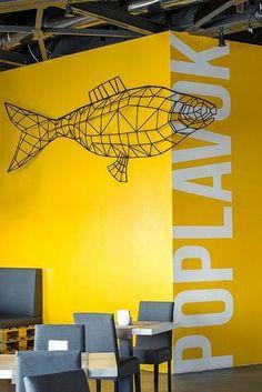 Cafe Poplavok in Dnipropetrovsk, Dnepropetrovsk, 2014 - Serhii Seinov #yellow