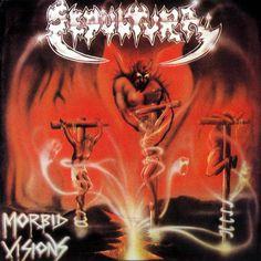 """Sepultura """"Morbid Visions"""" es el primer álbum de Sepultura lanzado en el 86 por Cogumelo, un álbum crudo y sucio, escúchalo completo aqui http://www.mutilador.com/2012/03/sepultura-morbid-visions-completo.html"""
