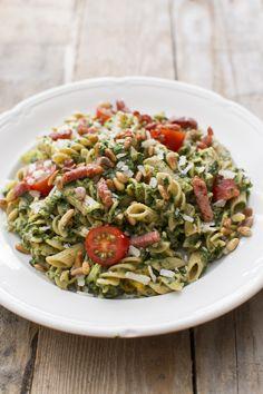 Fusilli, Pasta Salad, Cobb Salad, Kung Pao Chicken, Risotto, Menu, Dinner, Ethnic Recipes, Food