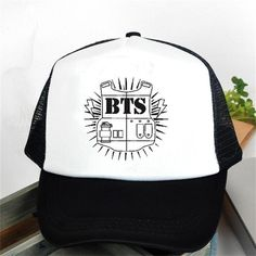 2017 Special Offer Rushed Gorras Bts Bulletproof Cadet Logo Baseball Cap  Hat Version Bangtan High Quality K-pop Style Snapback db7642b58db