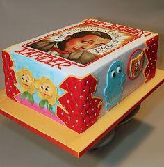 Pee Wee Herman Birthday Cake