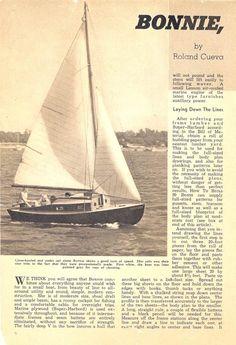 Bonnie Golden Hind, Old Boats, Small Boats, Cap Horn, Harley Davidson, Plan Paris, Free Boat Plans, Small Sailboats, Plywood Boat Plans