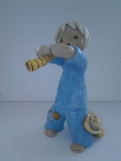 Kupittaan savi paimenpoika Raku Pottery, Uppsala, Finland, Smurfs, Dinosaur Stuffed Animal, Cool Designs, Characters, Ceramics, Retro