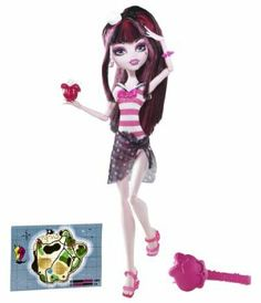 Monster High Skull Shores Draculaura Doll by Mattel. $24.22. Collect all your favorite Monster High Skull Shores dolls. The students of Monster High are decked out in spooktacular swimsuits. Even monsters love to play in the sun and go on vacation. Its spring break and all the ghoul kids are on an island adventure. Doll is fully articulated and can be posed in many different ways. From the Manufacturer Monster High Skull Shores Doll Collection: Its spring break ...