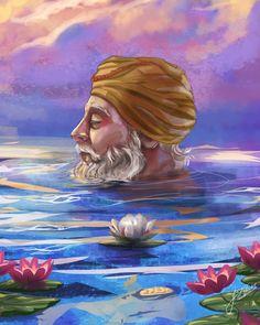 Guru Nanak Photo, Guru Nanak Ji, Nanak Dev Ji, Dasara Wishes, Farmer Painting, Guru Hargobind, Baba Deep Singh Ji, Guru Nanak Wallpaper, Shri Guru Granth Sahib