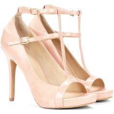 Sole Society Malia t-strap heel found on Polyvore