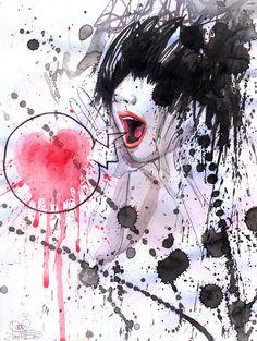 Lora Zombie y sus acuarelas satíricas « Cultura Colectiva