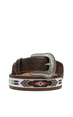 Cavender's offers a huge selection of men's fashion western belts, including leather and handmade belts, from your favorite brands at the right price. Western Belt Buckles, Western Belts, Men Accesories, Accessories, Western Wear For Women, Cowgirl Style, White Beads, Leather Belts, Leather Working
