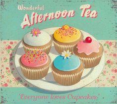 Afternoon Tea . . .