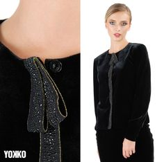 VELVET Jacket, for a classy look. #yokoo #velvetjacket #madeinromania #partyoutfit #classy Velvet Jacket, How To Look Classy, Slim, Detail, Elegant, Fabric, How To Make, Jackets, Outfits