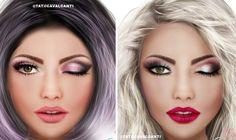 Make, Coisa e Tal - Notícia: 10 MAQUIAGENS EM TONS DE ROSA | INSPIRAÇÃO TATI CAVALCANTI #maquiagem #makeup #make #inspiração #tendência #rosa #rose #pink #MakeCoisaeTal #beleza #mulher