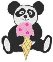 Embroidery | Free Machine Embroidery Designs | Bunnycup Embroidery | Pandas