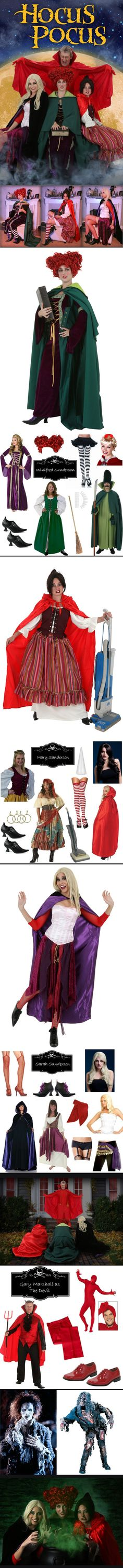 DIY Hocus Pocus Costumes Hocus pocus costumes, Costumes and Hocus - halloween group costume ideas for work