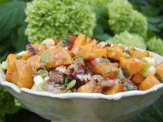 Warm Sweet Potato Salad