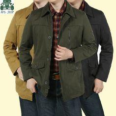 46f0e2eddf9 Aliexpress.com   Buy AFS JEEP New Arrival Mens Original Long Cotton Jacket