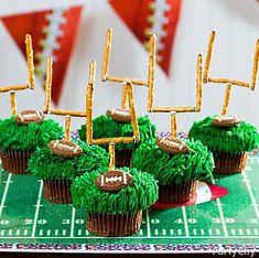 Football themed desserts