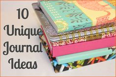 Journals, journal ideas, journaling ideas, writing tips, gifts, office supplies, UrbanGirl.