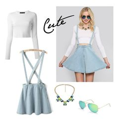 A fashion look from July 2015 featuring white long sleeve shirt, circle skirts and blue skirts. Browse and shop related looks. Shirt Sleeves, Long Sleeve Shirts, White Long Sleeve, Fashion Looks, Skirts, Cute, Polyvore, Shopping, Skirt