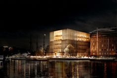 Nobel Center, David Chipperfield Architects