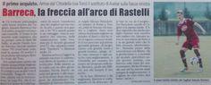 SCRIVOQUANDOVOGLIO: BARRECA,LA FRECCIA NELL'ARCO DI RASTELLI (22/06/20...