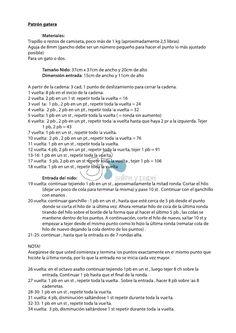 Patrón para una gatera de ganchillo. Imágenes en: http://salitreypapel.blogspot.com.es/2013/03/gatera.html