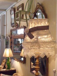 Love the lamp shade