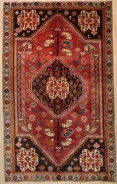Qashqai  Handgeknüpft  PerserTeppich Rugs  240 x 170 cm tappeto Orient