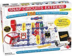 Elenco Discovery Snap Circuits Extreme SC-750 #Elenco #discovery #snap #circuits #educational