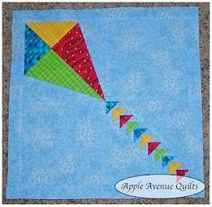 four patch kite | Paper piecing patterns, Kites and Paper piecing : kite quilt pattern - Adamdwight.com