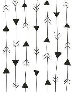 Hand Drawn Arrows Digital Drawing Arrows by ColourscapeStudios Arrow Pattern, Pattern Art, Pattern Design, Cute Wallpapers, Wallpaper Backgrounds, White Backgrounds, Interesting Wallpapers, Wallpapers Ipad, Textile Patterns