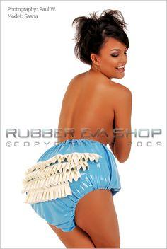 Rubber Rumba Pants - AB Rubber - Rubber Eva Shop £90