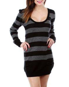 G2 Fashion Square Cassette Sweater Dress - List price: $68.95 Price: $19.96 Saving: $48.99 (71%) + Free Shipping