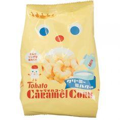 Tohato Caramel Corn Milk, 2.82 oz
