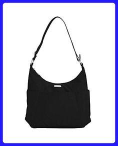 1c16b5a61e5b Baggallini Luggage Hobo Classic Hobo Style Tote, Black, One Size - Shoulder  bags (