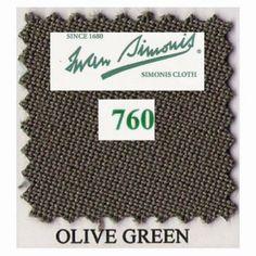Kit tapis Simonis 760 7ft UK Olive Green - 140,00 €  #Jeux
