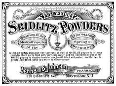 Clip Vintage Art - Boticario Label -Médico - los gráficos de hadas