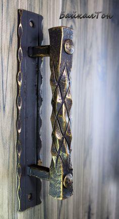 Door Pulls, Knobs And Pulls, Door Handles, Metal On Metal, Metal Shop, Metal Projects, Welding Projects, Fabrication Tools, Metal Bending