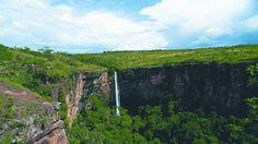 Cuiaba, waterfall Chapada