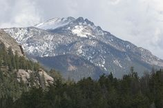 Colorado-This is where I go to visit my son Daniel.  At least they moved to nice places to visit!