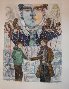 My Sherlock Holmes, Dr. Watson, Moriarty