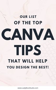 Canva Tips and Tricks