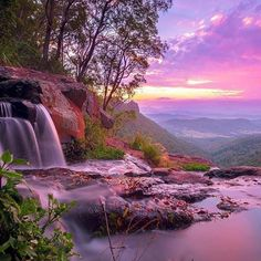 #Repost @edaccessible:Photo by Mitchell Pettigrew  Sunset  Waterfall  In Lamington National Park   Gold Coast Queensland Australia  O'Reilly's Rainforest Retreat  #sunset #sunrise #sun #TagsForLikes #TFLers #pretty #beautiful #red #orange #pink #sky #skyporn #cloudporn #nature #clouds #horizon #photooftheday #instagood #gorgeous #warm #view #night #morning #silhouette #instasky #all_sunsets #australia