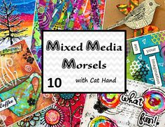 Mixed Media Morsels 10 - Masking Technique