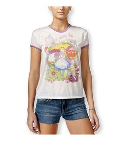 Mighty Fine Womens Alice In Wonderland Graphic T-Shirt #MightyFine #GraphicTee