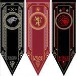 Home Decor Game Of Thrones Banner Flag Stark & Tully & Targaryen & Lannister & Baratheon & Martell & Bolton Flag – GoodAli Game Of Thrones Flags, Game Of Thrones Wolves, Game Of Thrones Decor, Game Of Thrones Sigils, House Stark Banner, Maison Stark, Flag Game, Diy, Ideas