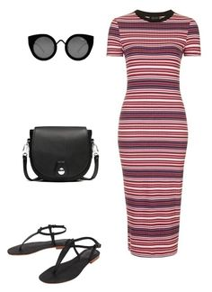 """""""Untitled #273"""" by dvurechenskaya ❤ liked on Polyvore featuring Topshop, rag & bone, Quay and Cocobelle"""