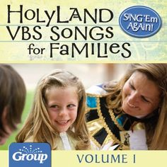 Sing 'Em Again: Favorite Holy Land VBS Songs for Families, Vol. 1 GroupMusic digital download of the Galilee (and other) VBS soundtracks.  #tpcmckinney #galileebythesea